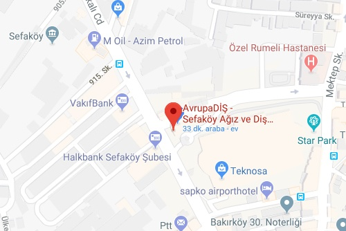 map sefakoy